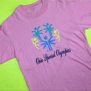 Vintage Ohio special olympics shirt.